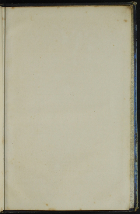 Recto of Back Flyleaf of [1890] Frederick Warne & Co. Reprint
