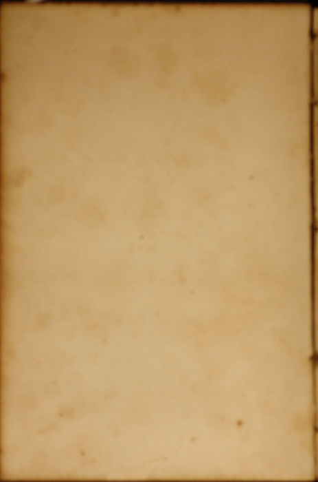 Front Pastedown of Volume 1 of the 1852 George P. Putnam 16th Edition, Version 1