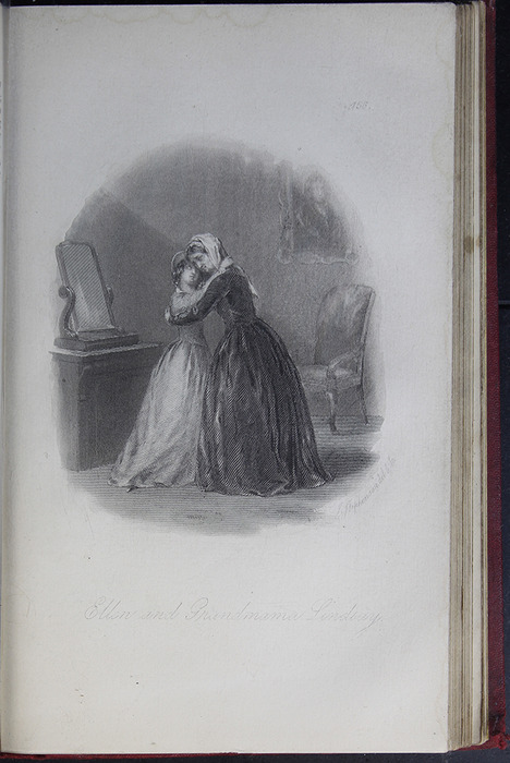 Illustration on Page 456a of the G. Bell 1889 Reprint Depicting Ellen and Grandmama Lindsay