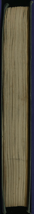 "Fore Edge of the 1853 Eli Charles Eginton & Co. ""Pocket Library"" Reprint"