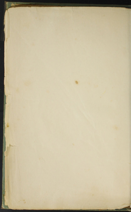 Verso of Second Front Flyleaf of the [1910] R. F. Fenno & Co. Reprint