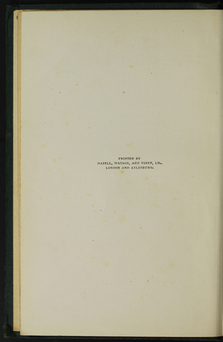 Colophon for the [1906] Charles H. Kelly Reprint, Version 1
