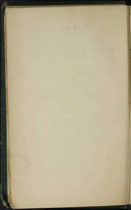 Verso of Title Page to the [1879] Milner & Sowerby Reprint