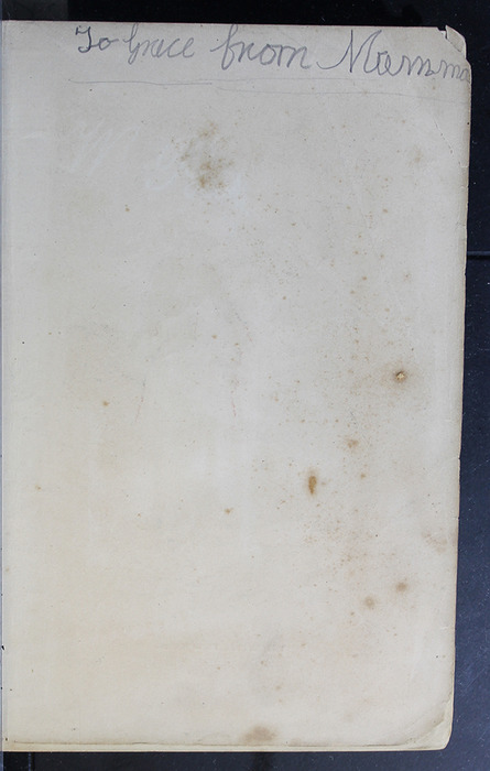 """Recto of Frontispiece to the 1886 James Nisbet & Co. """"New Edition"""" Reprint"""