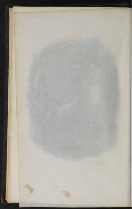 "Verso of Tissue Preceding Title Page Vignette to the 1869 J. B. Lippincott & Co. ""New Edition"" Reprint"