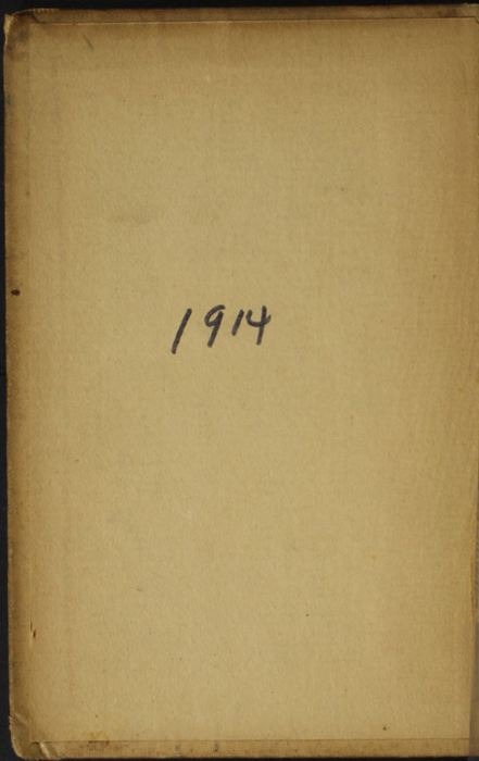 Front Pastedown of the [1900] W.B. Conkey Reprint