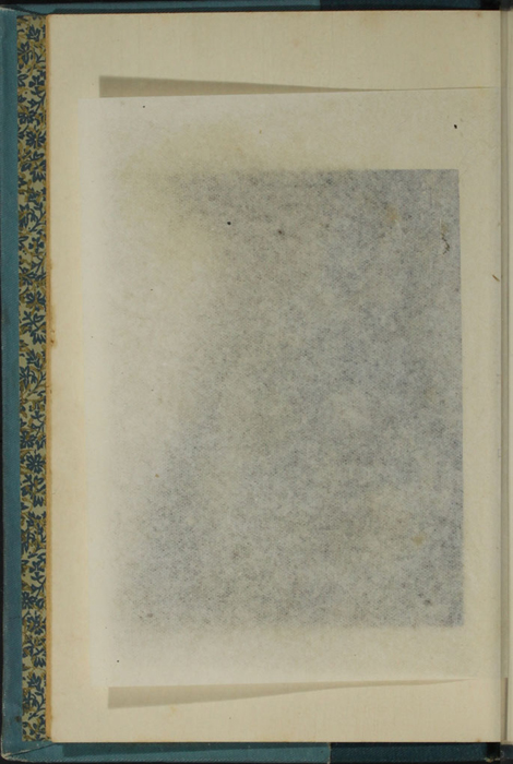 Verso of Tissue Preceding Title Page Vignette to Volume 2 of the [1902] Home Book Co. Reprint, Version 2