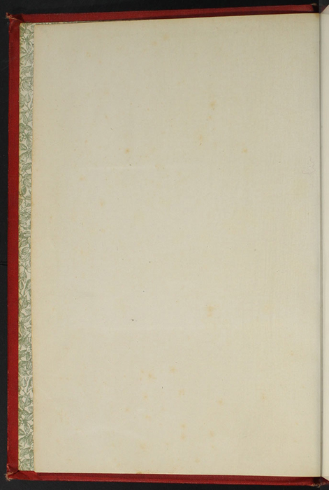 Verso of Front Flyleaf of the [1896] Walter Scott, Ltd. Reprint