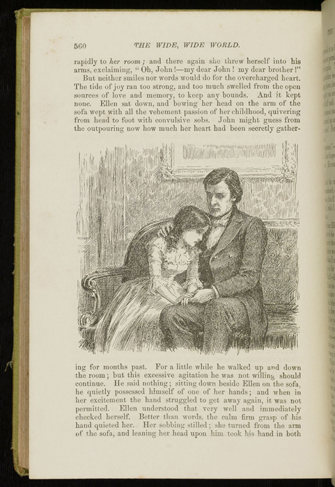 Illustration on Page 560 of the 1896 Hodder and Stoughton Reprint Depicting Ellen Reuniting with John in Scotland