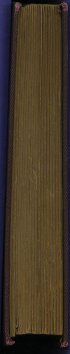 Fore Edge of the [1894] R. E. King & Co. Reprint