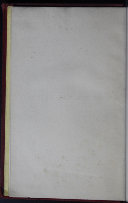 Verso of Half-Title Page to the 1889 G. Bell Reprint