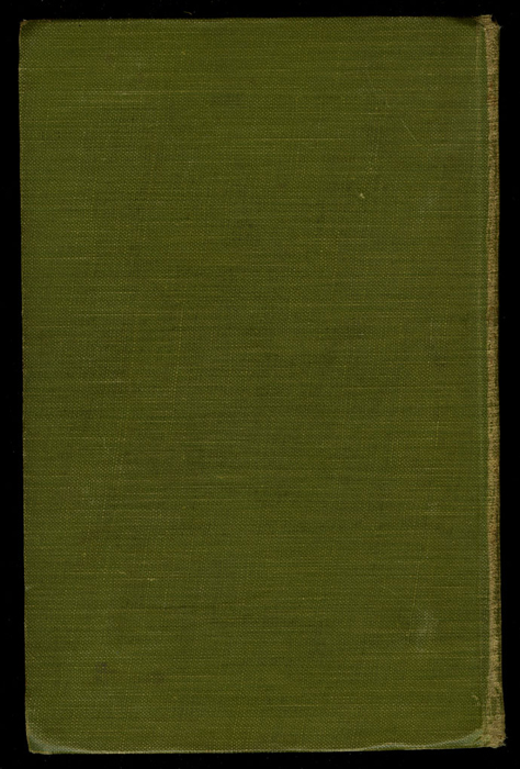 Back Cover of the [1915] M. A. Donohue & Co. Reprint