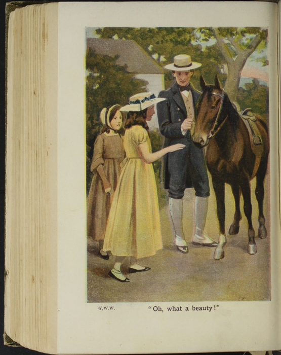Illustration on Page 346b of the [1907] Collins' Clear-Type Press Reprint Depicting Ellen Meeting the Brownie