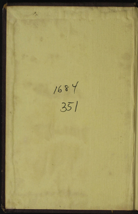 """Front Pastedown of the [1867] Milner & Sowerby """"The Wide, Wide World Library"""" Reprint"""