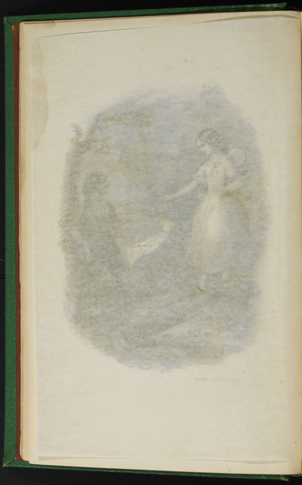 "Verso of Tissue Preceding Title Vignette of the 1880 J. B. Lippincott & Co. ""New Edition"" Reprint"