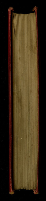 """Fore Edge of the [1877] Ward, Lock & Co. """"Good Tone Library, Complete Edition"""" Reprint"""
