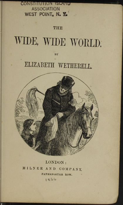 Title Page Vignette to the [1879] Milner & Sowerby Reprint Depicting the Letter Carrier's Arrival