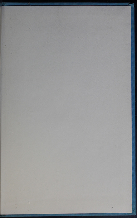 Recto of Back Flyleaf in the 1955 WM. B. Eerdmans Publishing Co. Reprint