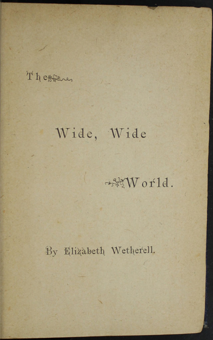 Half-Title Page to the [1887] W. Nicholson & Sons, Ltd. Reprint