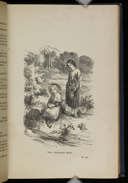 Illustration on Page 118a of the [1896] James Nisbet & Co. Reprint Depicting Nancy Finding Ellen at the Brook