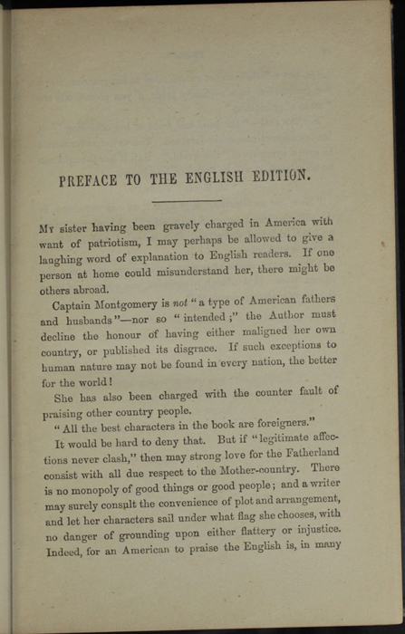 "First Page of the Preface to 1887 James Nisbet & Co. ""New ed. Golden Ladder Series"" Reprint"