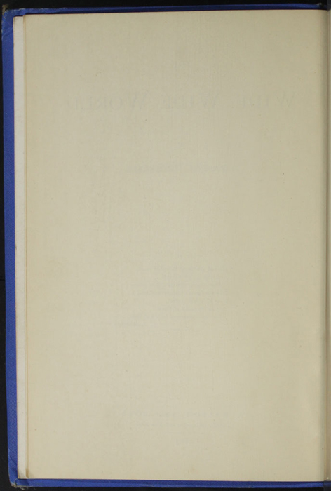 Verso of Title to the 1893 T. Nelson & Sons Reprint