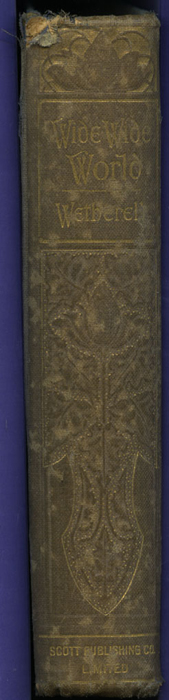 "Spine of the [1904] The Walter Scott Publishing Co. Ltd. ""Complete ed."" Reprint"