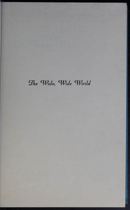 First Half-Title Page to the 1955 WM. B. Eerdmans Publishing Co. Reprint