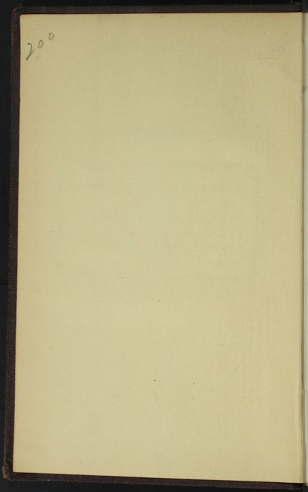 "Verso of First Front Flyleaf of the 1869 J. B. Lippincott & Co. ""New Edition"" Reprint"