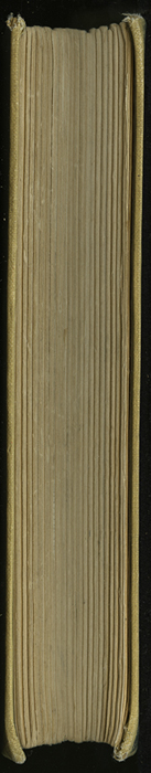 Fore-Edge of the [1926] Ward, Lock, & Co., Ltd., Reprint