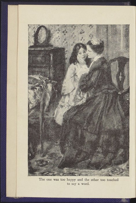 "Frontispiece of the [1922] T. Nelson & Sons ""The Nelson Classics"" Reprint Depicting Alice Comforting Ellen After the Loss of Her Letter"