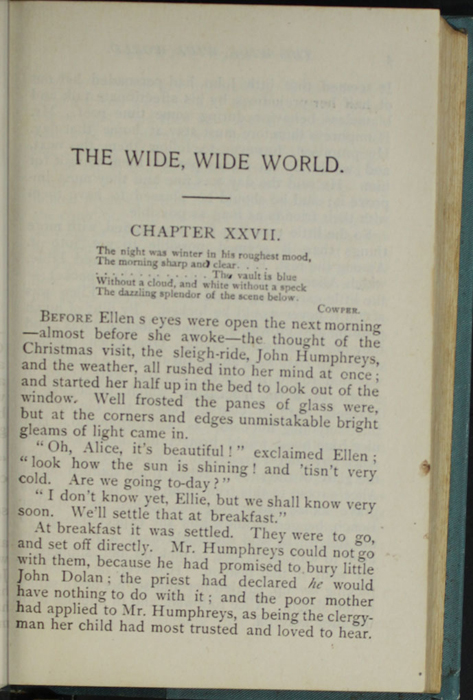 First Page of Text in Volume 2 of the [1902] Home Book Co. Reprint, Version 2