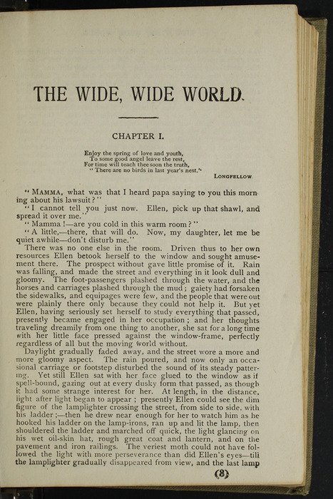 First Page of Text in the [1900] Hurst & Co. Reprint, Version 1