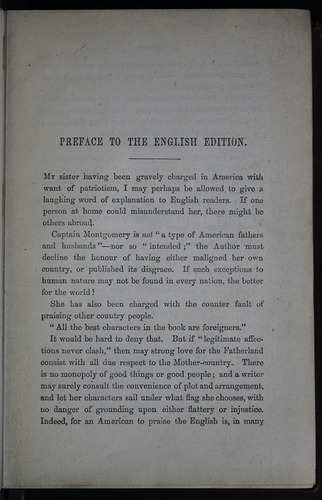 "Page iii of the Preface to the 1883 James Nisbet & Co. ""New Edition"" Reprint"