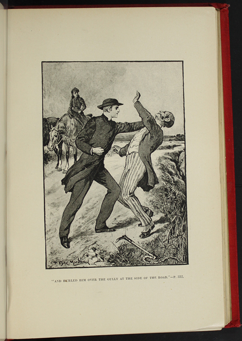 "Illustration on Page 328b of the [1896] Walter Scott, Ltd. ""Complete Edition"" Reprint Depicting the Horse Whipping Scene"