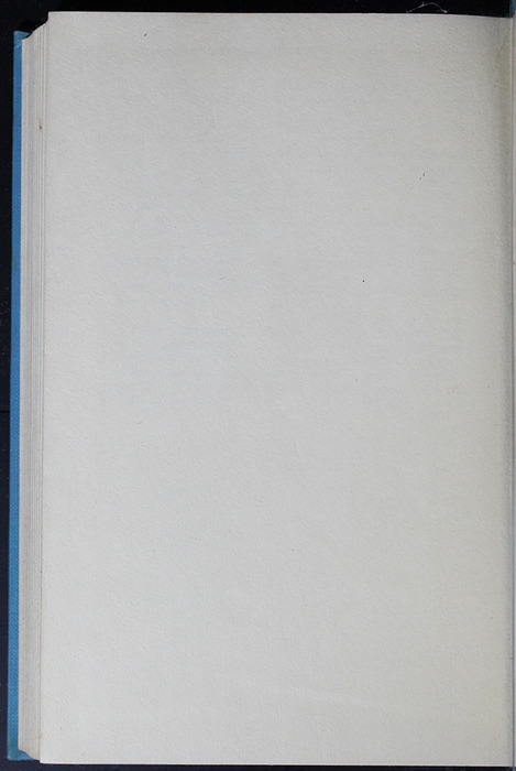Verso of Back Flyleaf in the 1955 WM. B. Eerdmans Publishing Co. Reprint