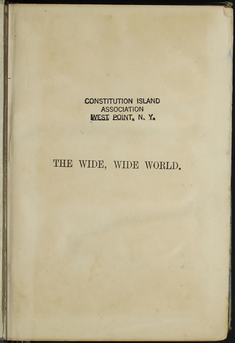 Half-Title Page to [1890] Frederick Warne & Co. Reprint