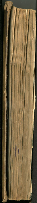 Fore Edge of the [1853] Clarke, Beeton, &amp; Co. Reprint, Version 1<br /><br />