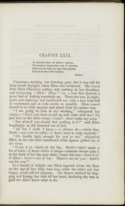 Third Page of Text in Volume 2 of the 1851 George P. Putnam First Edition<br /><br />