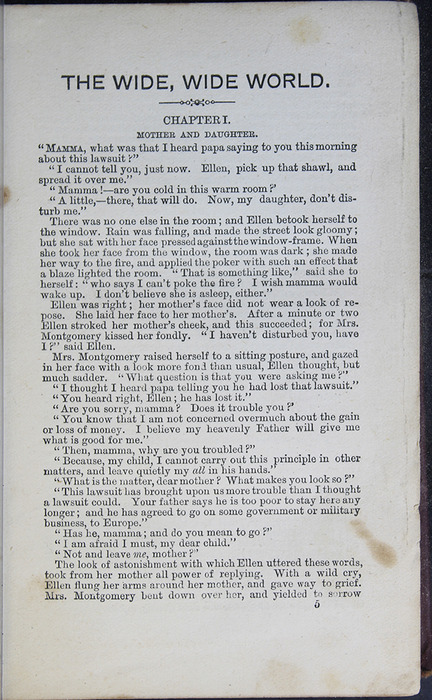 First Page of Text in the [1877] Milner & Co. Reprint