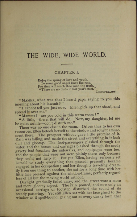 First Page of Text in the [1902] H. M. Caldwell Co. Reprint