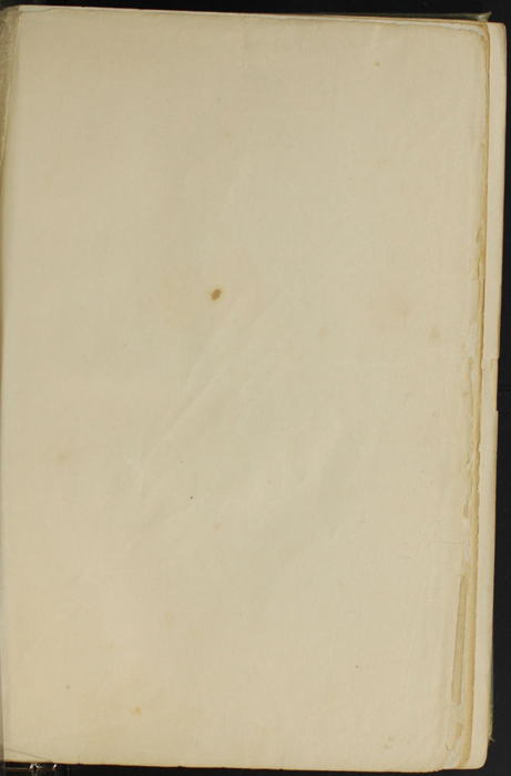 Recto of Second Front Flyleaf of the [1910] R. F. Fenno & Co. Reprint