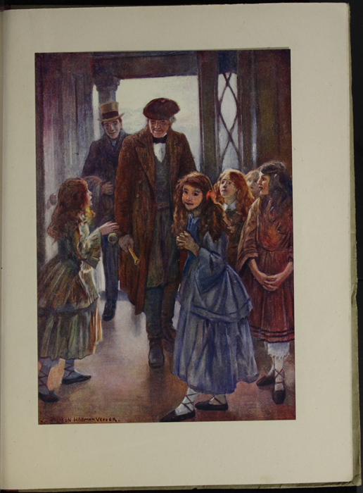Full-Color Plate on Page 48a of the [1918] Thomas Nelson & Sons, Ltd. Abridged Reprint Depicting John and George Marshman Arriving at the Marshmans'