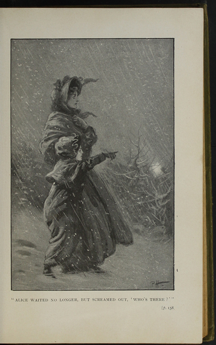 Illustration on Page 158a of the [1910]  S.W. Partridge & Co., Ltd. Reprint Depicting the Snow Storm