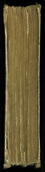 Fore Edge of the 1853 H. G. Bohn Reprint, Version 2