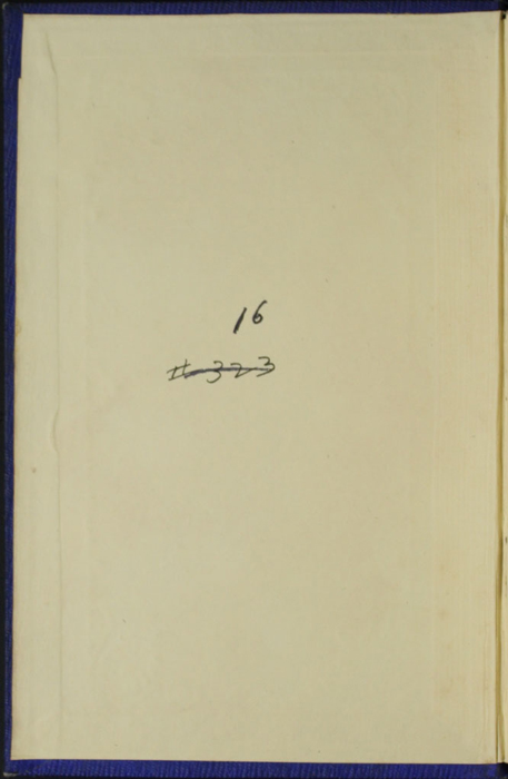 "Front Pastedown of Volume 2 of the 1853 James Nisbet, Hamilton, Adams & Co. ""New Edition"" Reprint"