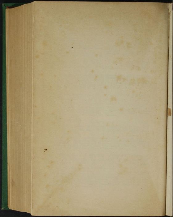 """Verso of First Back Flyleaf of the 1880 J. B. Lippincott & Co. """"New Edition"""" Reprint"""
