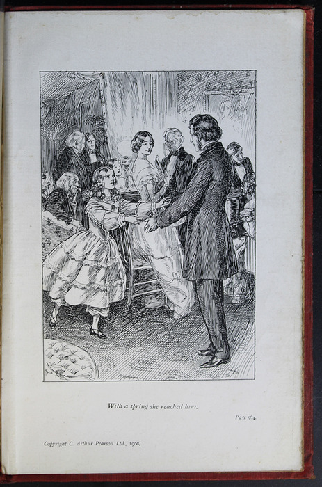 Illustration on Page 564a of the [1908] Seeley & Co. Ltd. Reprint Depicting Ellen Reuniting with John in Scotland