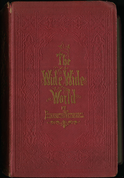 Front Cover of the 1852 T. Nelson & Sons Reprint, Version 1