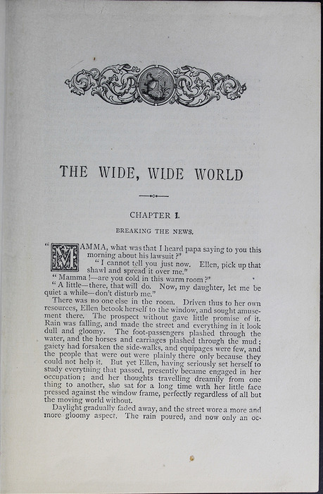 First Page of Text in the [1899] George Routledge & Sons Edition